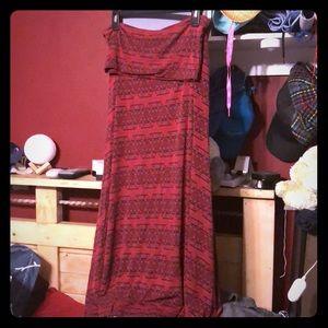 Luloroe Maxi skirt